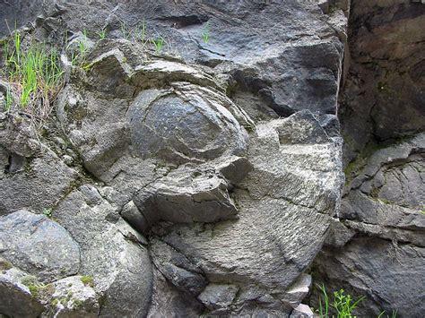 Pillow Basalts by Pillow Basalt More Than A Kilometer Above Sea Level