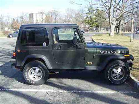 1995 Jeep Wrangler Grande Sell Used 1995 Jeep Wrangler Grande Yj Hardtop Auto