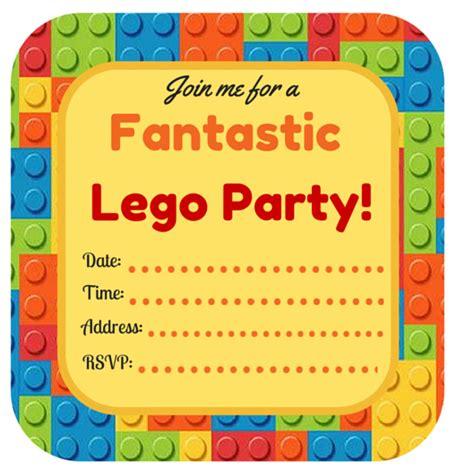 printable lego invitation free lego party printables part 3 birthday invitations