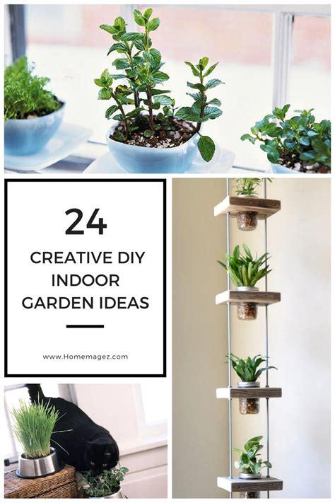indoor garden ideas 24 creative diy indoor garden ideas home magez