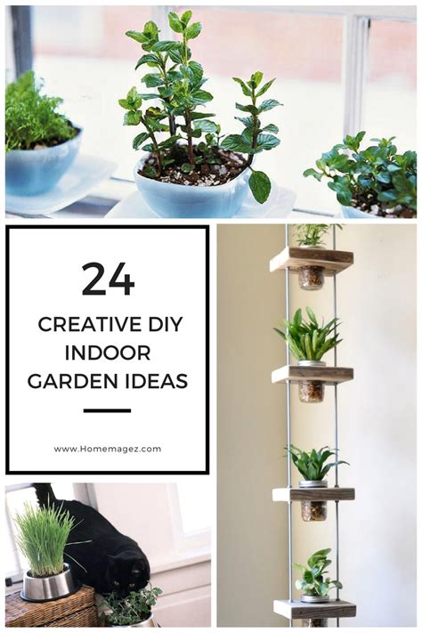 creative diy indoor garden ideas home magez