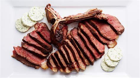 porter house steak seared porterhouse steak