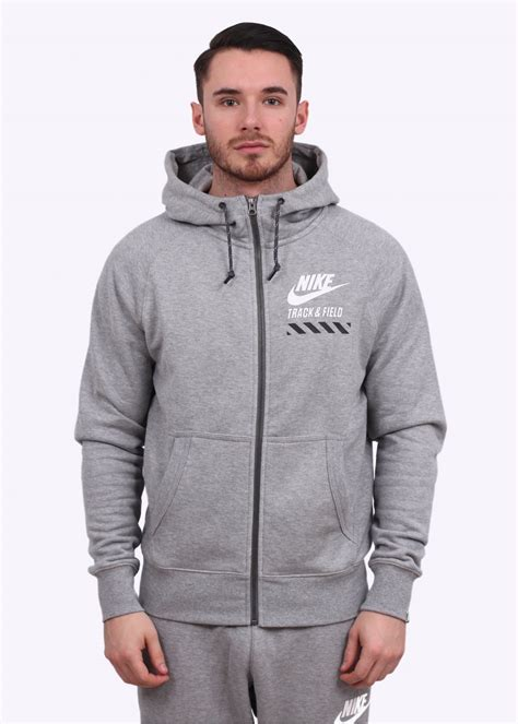light grey nike hoodie nike aw77 ntf fz hoodie light grey