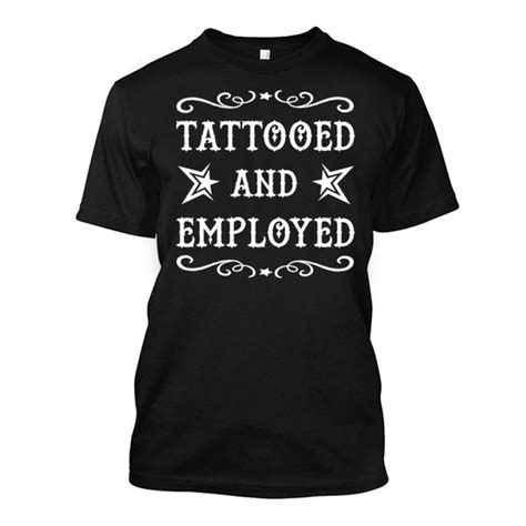 tattooed and employed hoodie the inked boys shop