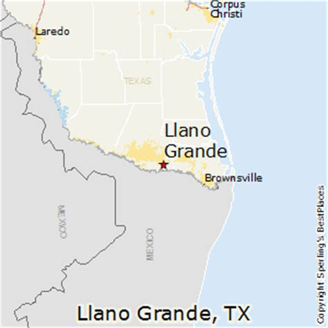 grande texas map best places to live in llano grande texas