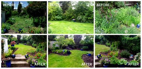 Before After Kitchen Makeovers - gardens before and after make the most of your garden