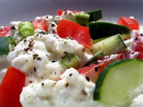 1000 ideas about cottage cheese salad on