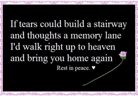 Happy Birthday And Rest In Peace Quotes Rest In Peace Grandma Quotes Quotesgram