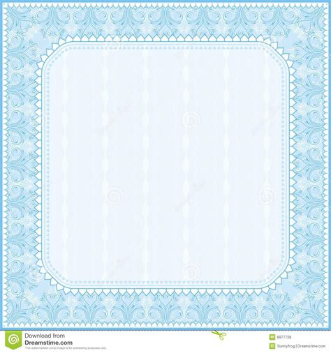 square certificate background vector royalty free stock