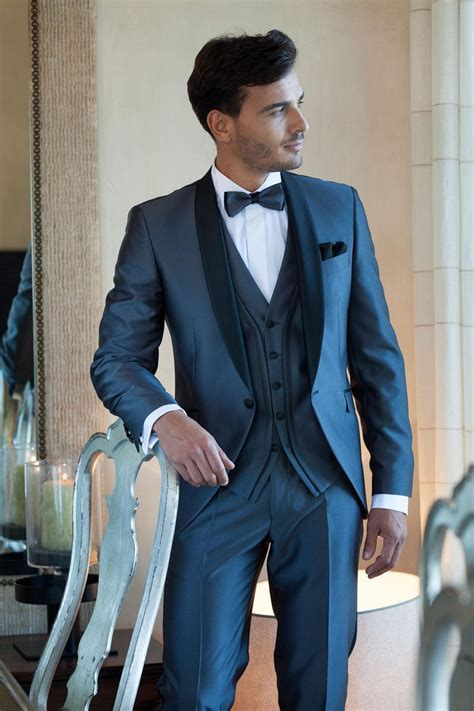 2016 New Arrival Mens Suits Navy Blue Customized Best Men