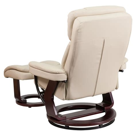swivel base recliner leather recliner and ottoman swiveling base swivel seat