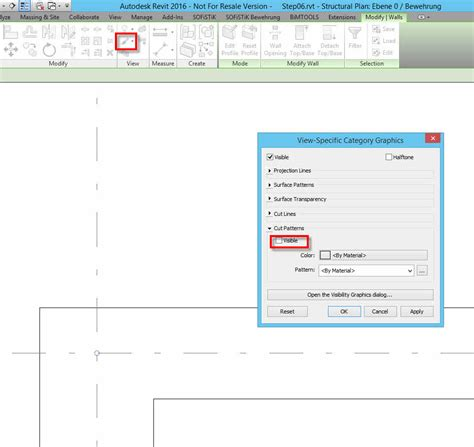 revit wall pattern not showing shear wall cut pattern not showing in my view autodesk