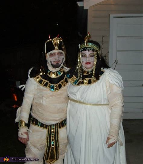 cleopatra king tut mummy halloween costume  minute