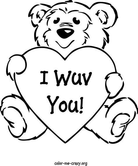 Download Free Valentines Day Printable Coloring Pages Coloring Pages Cutouts