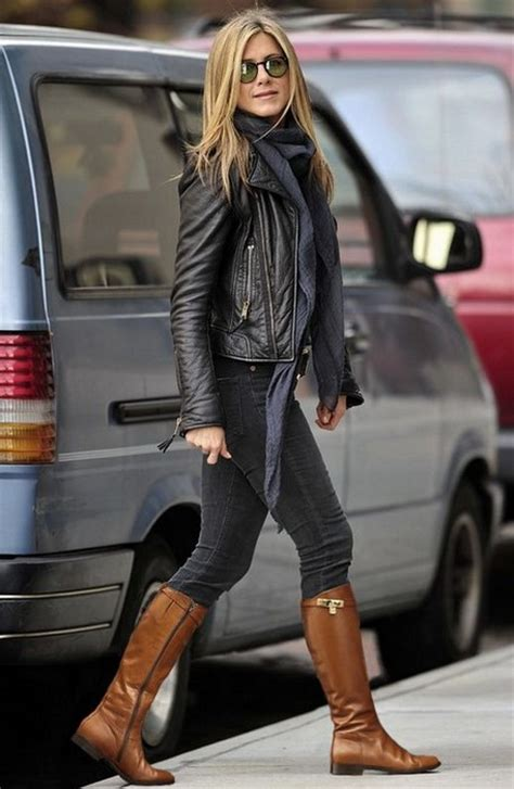 20 looks with leather jackets glam sugar