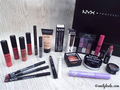 Makeup Nyx Nyx Cosmetics Haul Emilyloula