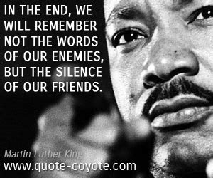 the silence of our friends books enemies quotes quote coyote
