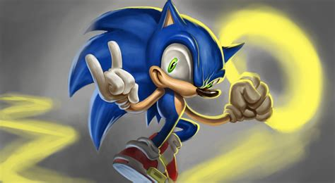 painting sonic sonic the hedgehog speed painting easy things to draw