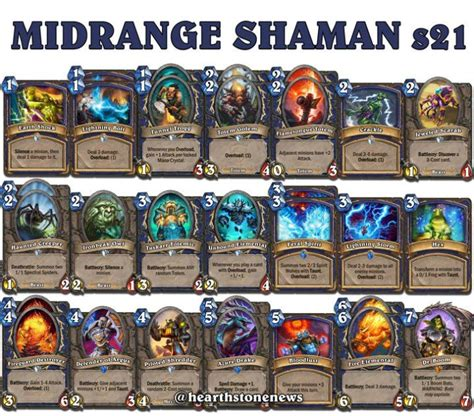 shaman deck 25 best hearthstone decks images on deck