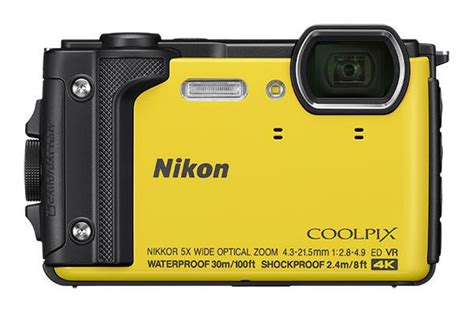 nikon unveils rugged coolpix w300 underwater compact with 5x zoom 4k gps wifi