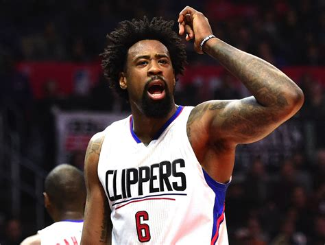 deandre jordan hair deandre jordan hairstyles what haircut does deandre jordan