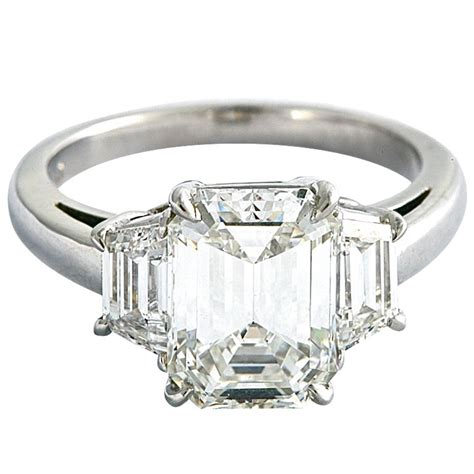 beautiful emerald cut ring at 1stdibs
