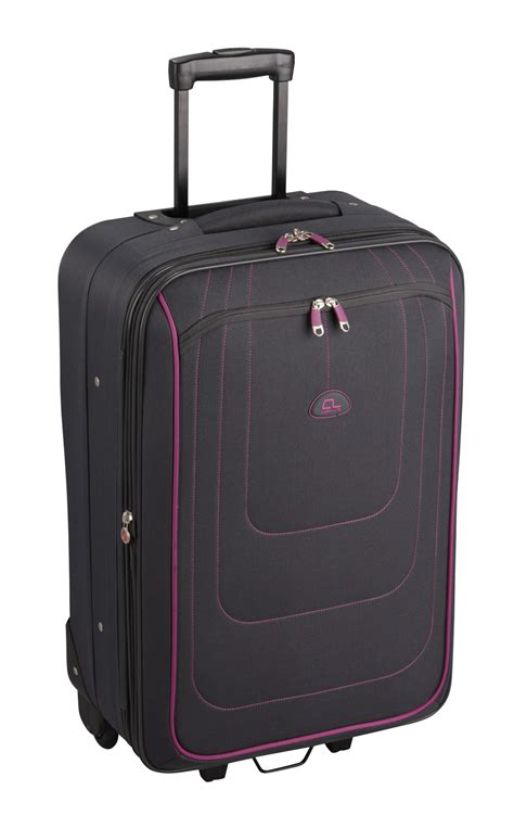 L 16 01 Set 52 striped luggage set striped suitcases 4 set