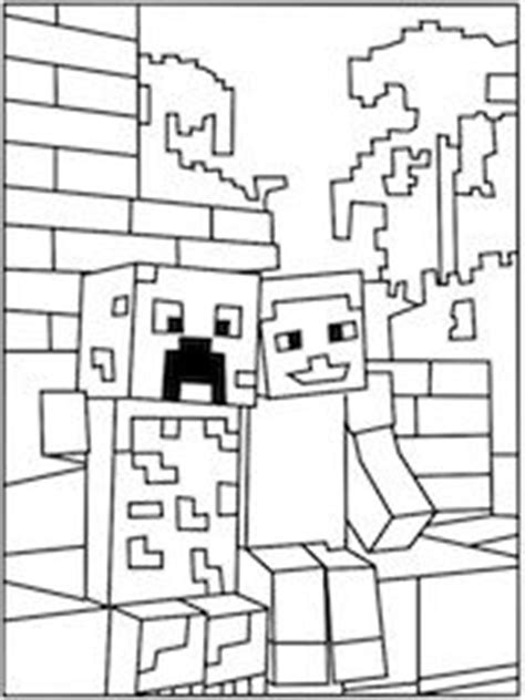 minecraft creeper coloring pages printable 1000 images about minecraft ideas agh herobrine on