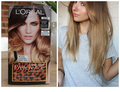 Loreal Ombre le chic the diy dip dye with l oreal