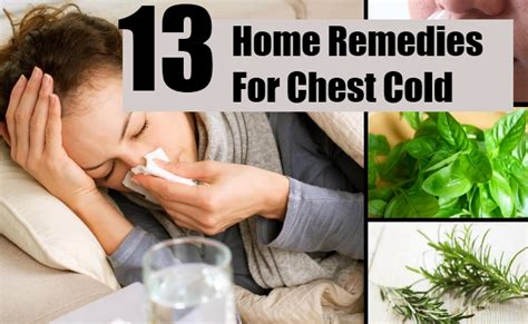13 home remedies for chest cold treatments