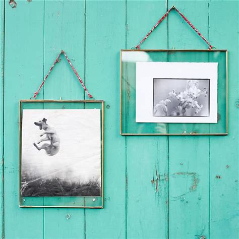 Hanging Frames by Large Hinged Hanging Glass Frames