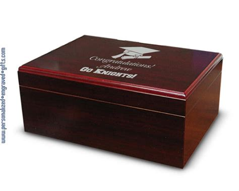 Product Manager Mba Graduate by Cherry Finished Wooden Desktop Humidor The Manager A