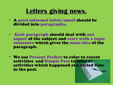 Informal Letter To Offer Advice Letter Writing Giving Asking For Advice Letters Of Complaint