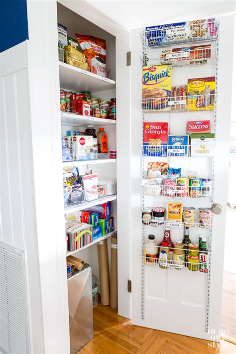 small pantry closet makeover in my own style