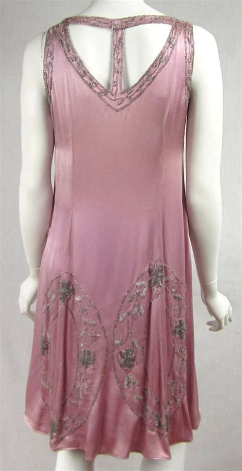 1920 beaded dresses for sale 1920s pink silk beaded quot gatsby quot dress dresses for sale
