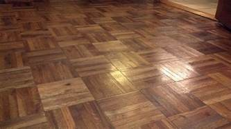 The Flooring by Day 43 Dull Parquet Floor What To Do Project