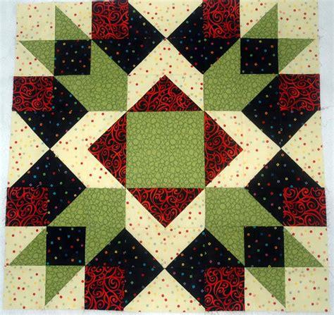 Square Patchwork Quilt Pattern - large quilt block patterns