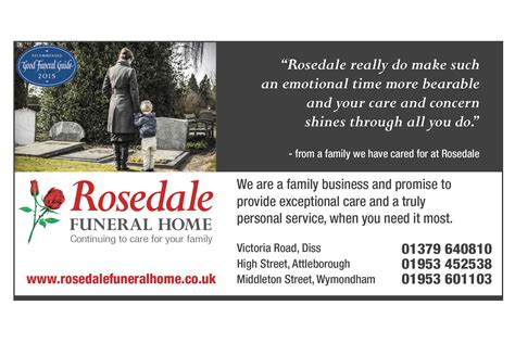 rosedale funeral home pr and marketing by splice creative