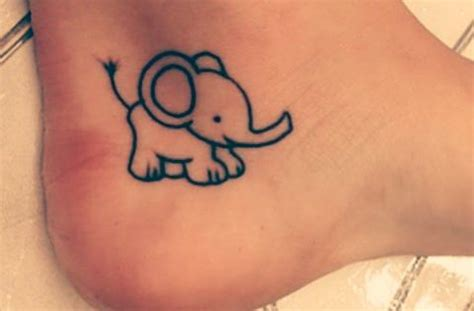 cartoon elephant tattoo meaning 85 beautiful elephant tattoos and their meanings fmag