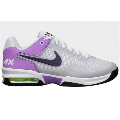 nike air max cage grey purple s tennis shoes review