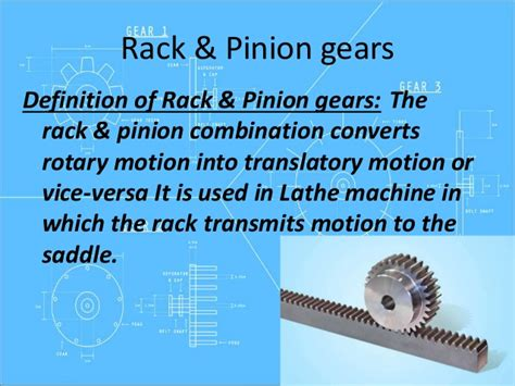 What Is The Meaning Of Rack Gears Gg