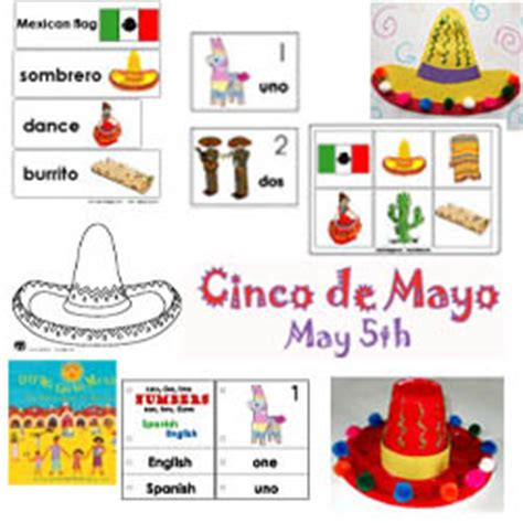 kindergarten activities mexico cinco de mayo crafts activities games and printables