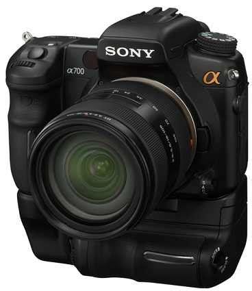 Kamera Sony A700 sony a700 tar upp ken med nikon d300 kamera bild