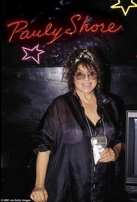 mitzi comedy store pauly shore s mother and comedy store founder mitzi shore