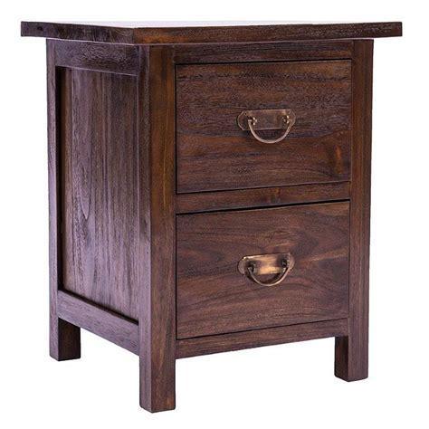 java rustic teak bedside cabinet door drawer bedside java this 2 drawer bedside cabinet is from our rustic