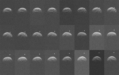 res news meteorismo non meteorite image release high def radar images of near earth