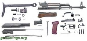 Polish underfolder ak 47 parts kit unissued in cleveland ohio gun
