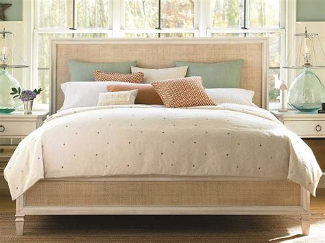 king size panel bed universal furniture summer hill cotton king size woven