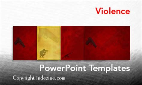 powerpoint templates for violence violence powerpoint templates