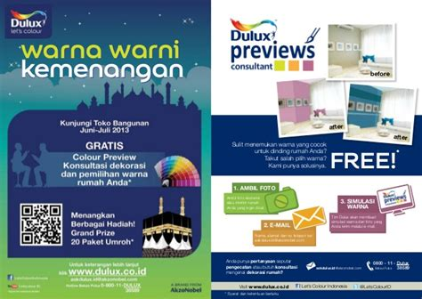 Lu Sorot Warna Warni booklet dulux 2013 warna warni kemenangan